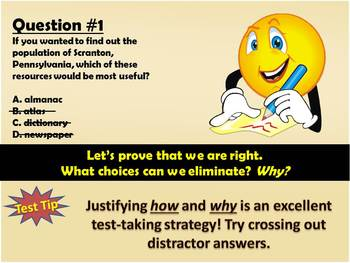 AIMS Test Strategies and Writing (embedded) Question Practice