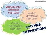 AIMSWEB: Flash Card Intervention Bundle