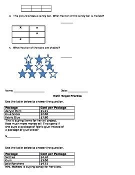 AIMSWeb M-CAP Skill Practice