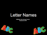AIMSweb Naming Fluency Assessment 5