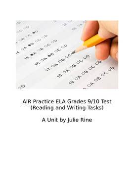 AIR ELA Practice Test #1:Is It Immoral to Watch Football? (Reading and Writing)