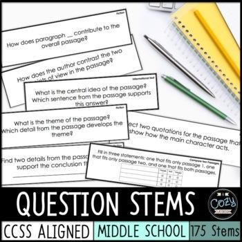 AIR Reading Question Stems