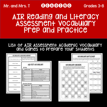AIR Reading Prep and Practice