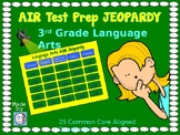 AIR Test Prep!  3rd Grade Language Arts Jeopardy Game!