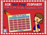 AIR Test Prep!  4th & 5th Grade Language Arts Jeopardy Game!