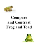 AIR/PARCC Test Prep: Compare and Contrast Frog and Toad