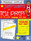 Test Prep Language Arts: Jumpstart Freebie Sample (aligned to AIR tests)