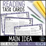 AIR Test Prep Main Idea Task Cards (Ohio)