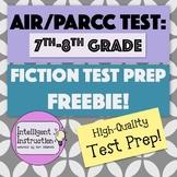 AIR Test Prep / PARCC Test Prep: 7th-8th Grade ELA Fiction Mini-Practice Test