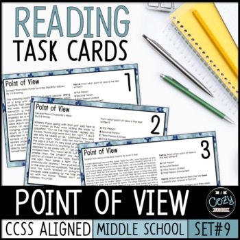AIR Test Prep Point of View Task Cards (Ohio)