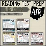 AIR Test Prep Reading Bundle 3 (Ohio)