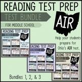 AIR Test Prep Reading Test Bundle (Ohio)