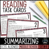 AIR Test Prep Summarizing Task Cards (Ohio)