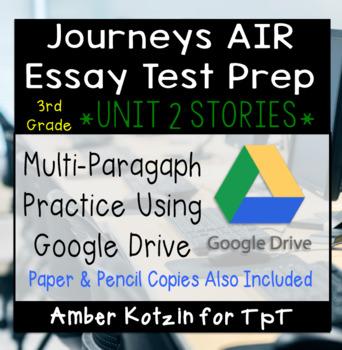 AIR Test Prep Using Journeys Stories Unit 2
