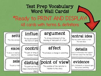 AIR Test Prep Vocabulary Bundle! (3rd-6th Grades)