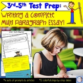 Test Prep: Writing a Multi Paragraph Essay (aligned to the