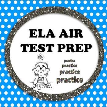 AIR Test Vocab Practice Organizer