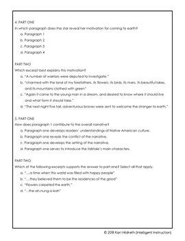 AIR or PARCC Practice Test: 6th Grade ELA (English Language Arts) Test Prep!