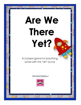 AIR sound: Are We There Yet file folder game