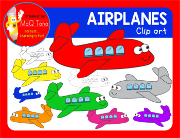 AIRPLANES Cliparts