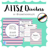 AITSL Page Dividers - Pink and Navy