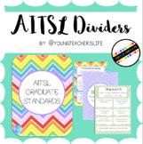 AITSL Binder Dividers