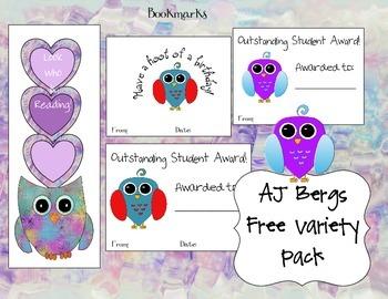 AJ Bergs Free Variety Pack