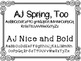 AJ Fonts {for personal and commercial use}