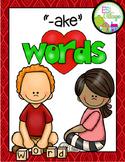 -ake word family
