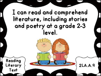 AKS  Grade 2 English Language Arts I Can Statements  for  Gwinnett County