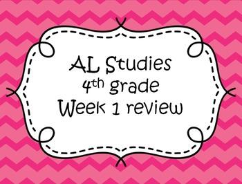 AL Studies Weekly Test Review: Week 1