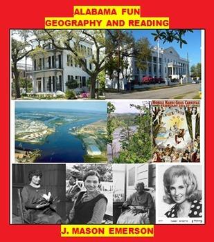 ALABAMA FUN  GEOGRAPHY AND READING