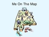 ALABAMA Map Skills PowerPoint