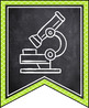 ALABAMA SCIENCE STANDARDS BANNERS, 7th GRADE, LIME GREEN & CHALKBOARD