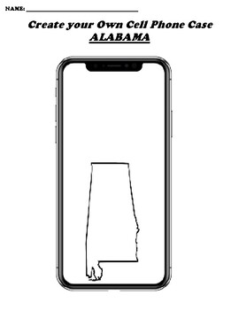 ALAMABA CREATE YOUR OWN CELL PHONE COVER