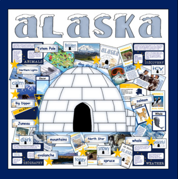 ALASKA TEACHING AND DISPLAY RESOURCES KS1 KS2 GEOGRAPHY WEATHER