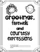 ALBUM Greetings, farewells, courtesy expressions and colors