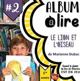 ALBUM à LIRE #2: Le lion et l'oiseau