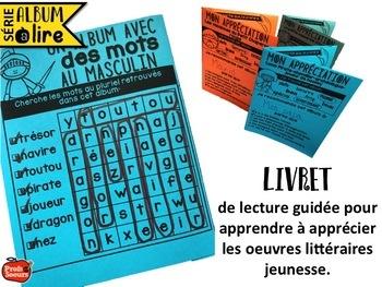 French literacy Cercles littéraires: immersion and core / Littérature jeunesse