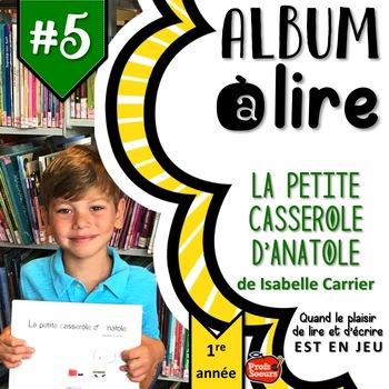 ALBUM à LIRE #5: La petite casserole d'Anatole