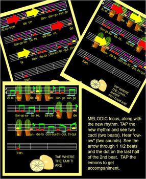 ALCITRON - Mexican Childrens Game - TAM TI - Low la, do, re mi - SMART FILE