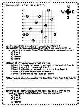 ALDs pack - 5th Grade Geometry