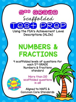ALDs pack - 5th Grade Numbers & Fractions