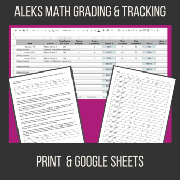 ALEKS Grading and Tracking Form