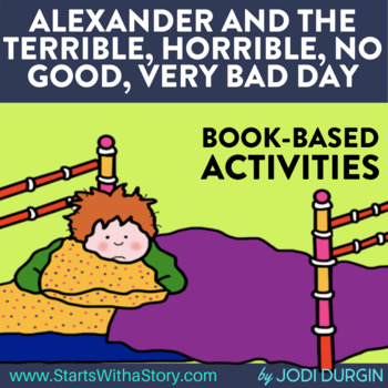 ALEXANDER AND THE TERRIBLE, HORRIBLE, NO GOOD, VERY BAD DAY read aloud lessons