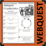 ALEXANDER GRAHAM BELL Science WebQuest Scientist Research Project Biography