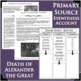 ALEXANDER THE GREAT BUNDLE Death & Defeat Persians Differentiated Activities