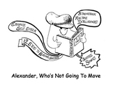 ALEXANDER WHO'S NOT GOING TO MOVE Success Sparks Reading A