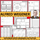 ALFRED WEGENER Research Project Timeline Poster Poem Biography Graphic Organizer