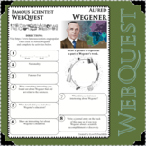 ALFRED WEGENER Science WebQuest Scientist Research Project Biography Notes